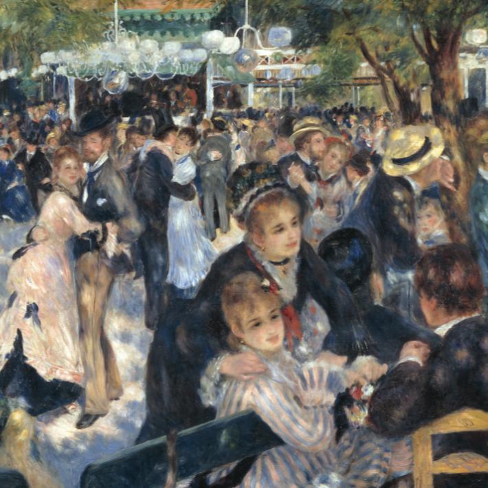 THE ART OF HAPPY WITH PIERRE-AUGUSTE RENOIR -