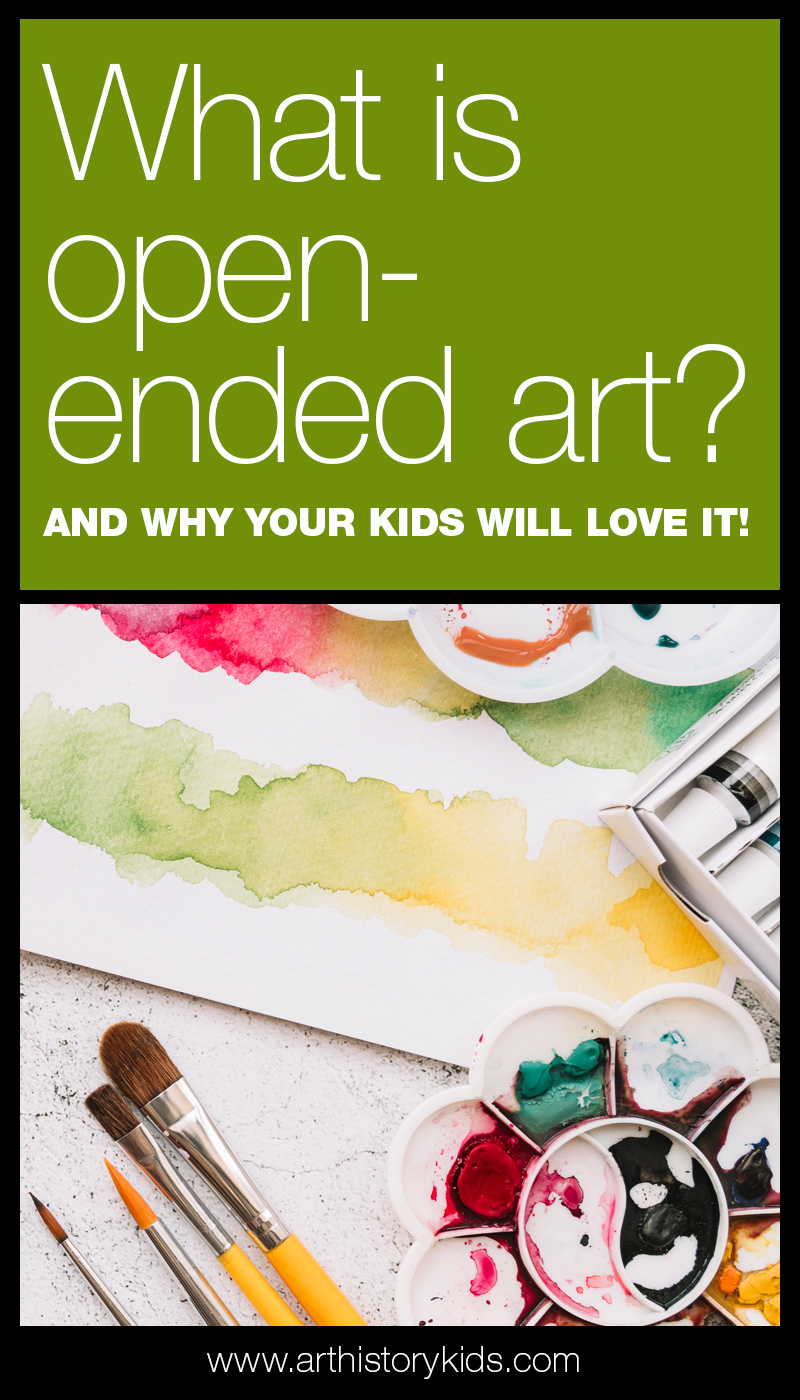 What is open-ended art? And... why your kids will LOVE it!