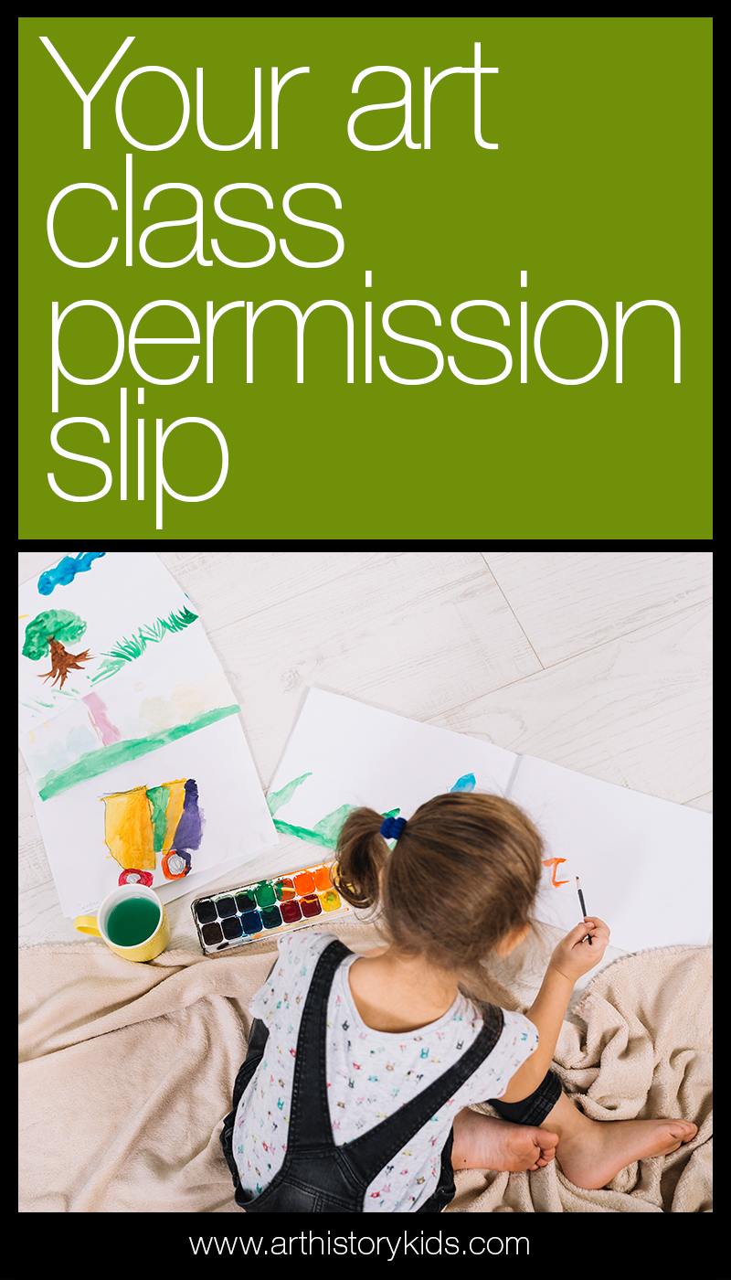 Don't let art fall by the wayside this year! This permission slip will help you to reframe your expectations around art studies, and approach art with a new outlook that inspires fun and creative explorations!