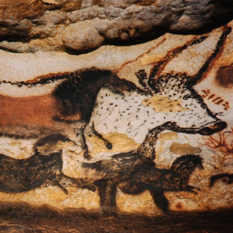 Unknown Artists,   The Lascaux Cave,  16,000BCE //January 2019