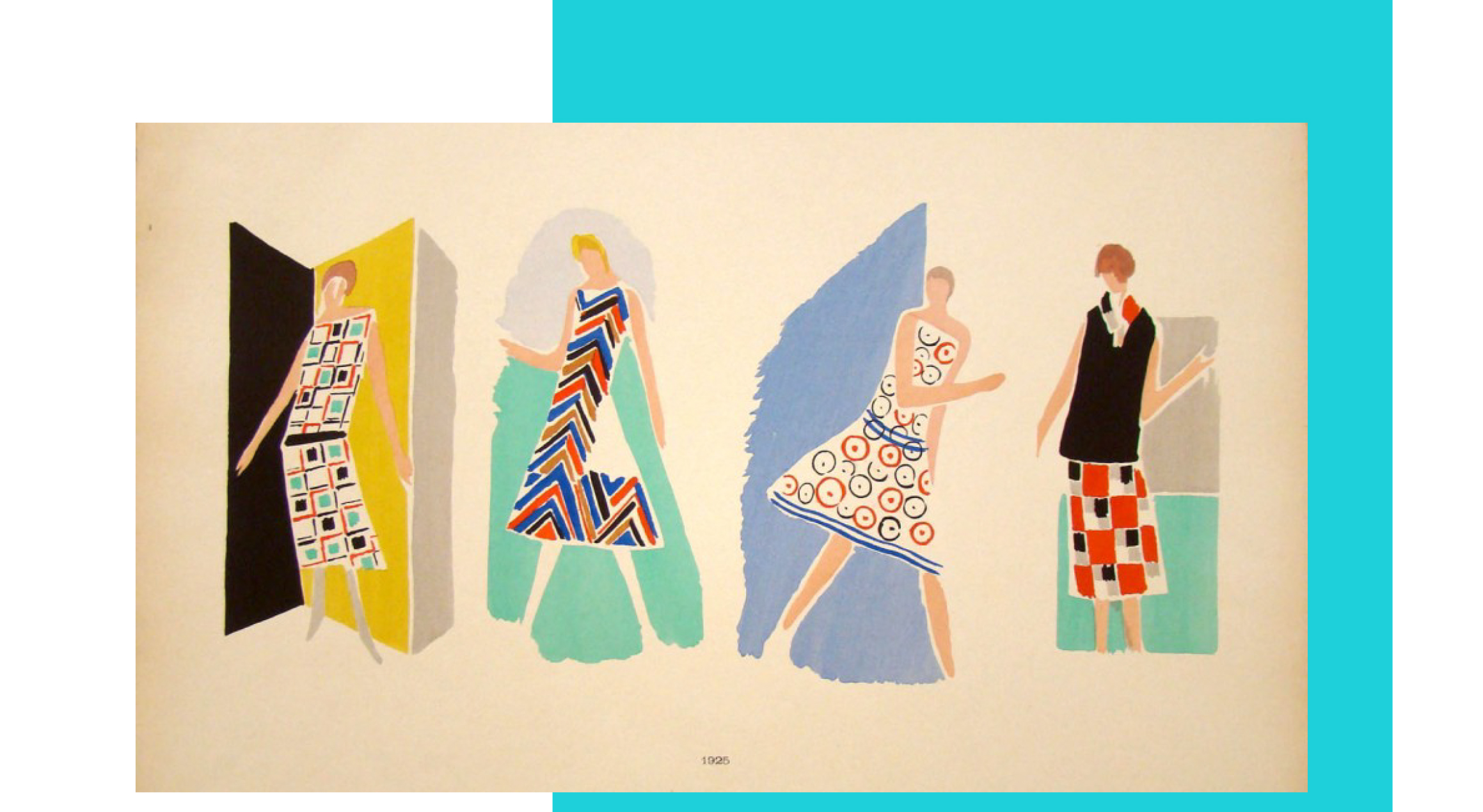 October - Fashion and Abstraction with Sonia Delaunay -