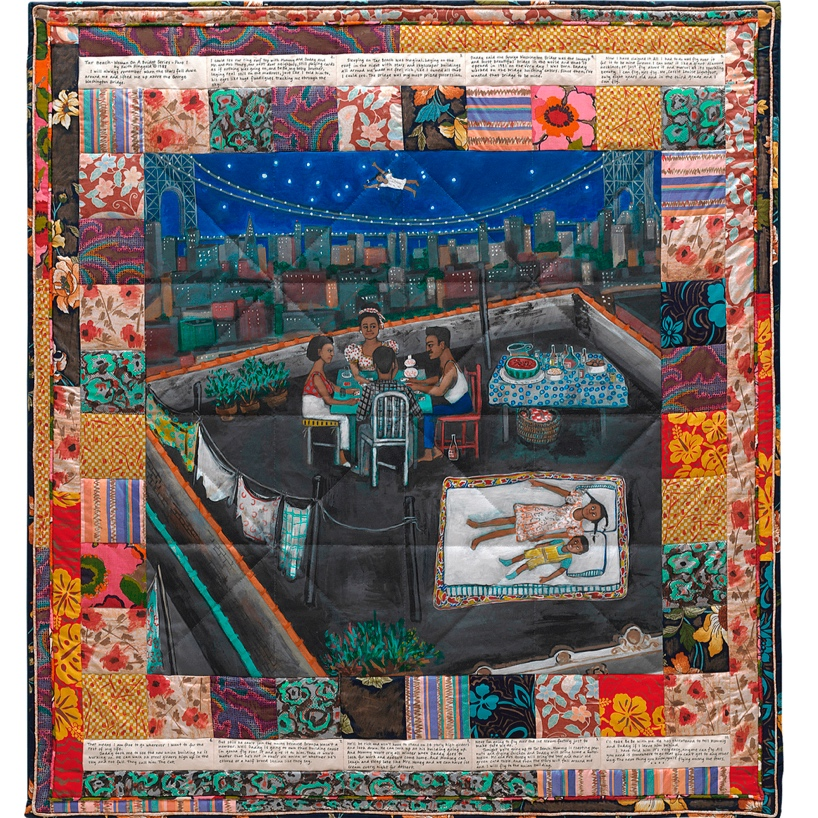 Faith Ringgold,   Tar Beach,  1988 // February 2019