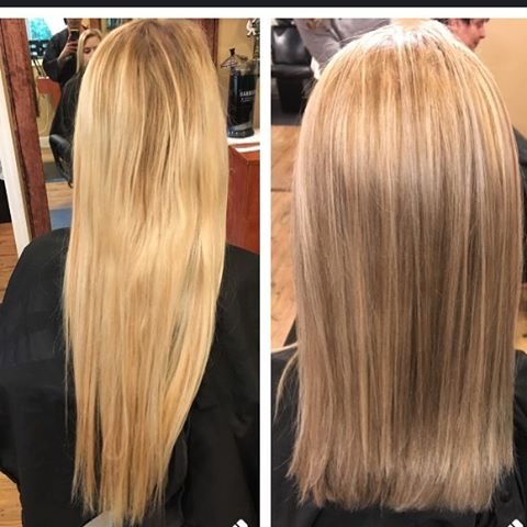 Before and after by tiff