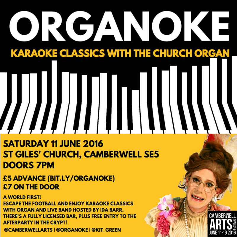 ORGANOKE - 11TH JUNE