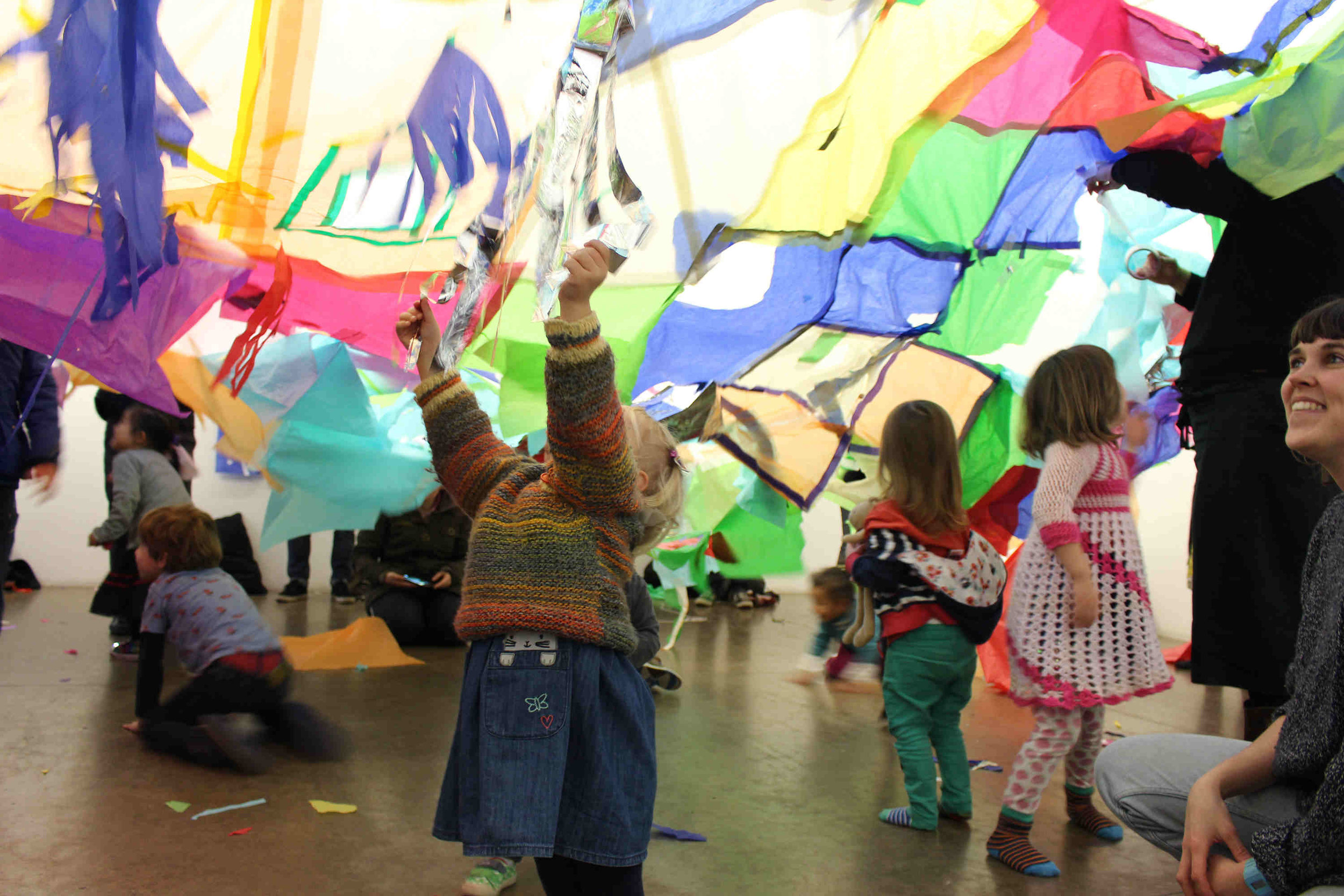 Sunday Spot at the South London Gallery, has  free hands-on activities led by artists for children aged 3-12 years.  Sunday 2 - 4pm. For more information go to the website  southlondongallery.org