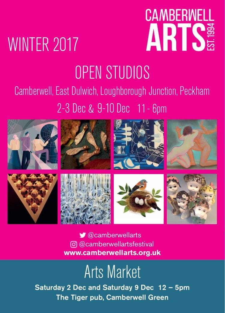2017 Winter - Open Studios & Made in Camberwell Arts Market December 2017