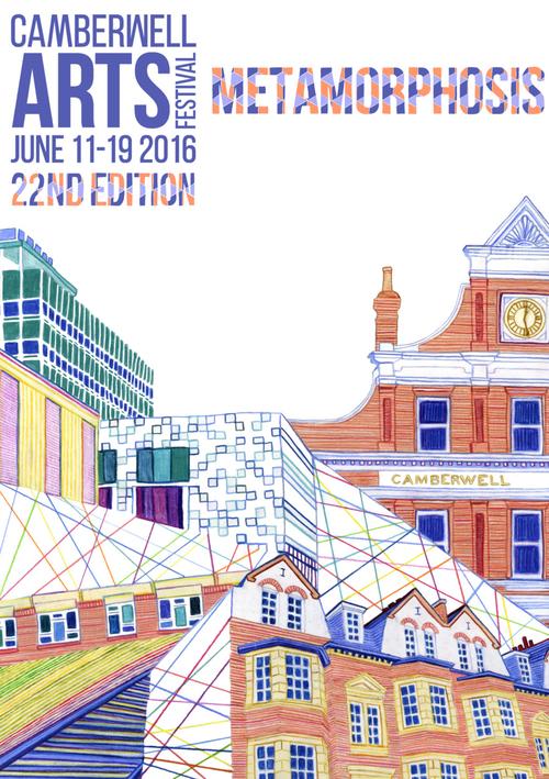 2016 Summer - Camberwell Arts Festival 2017 - Metamorphosis