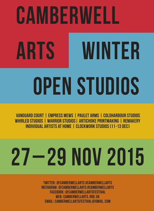 2015 Winter - Open Studios December 2015