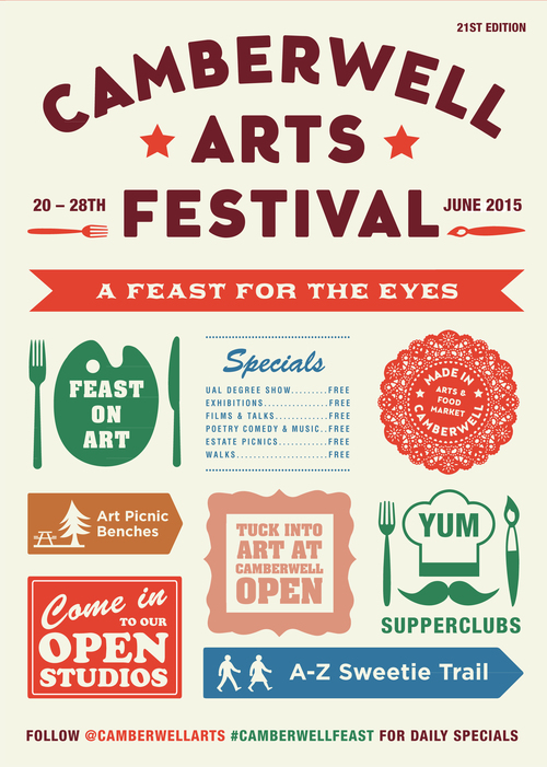 2015 Summer - Camberwell Arts Festival 2015 - A Feast for the Eyes