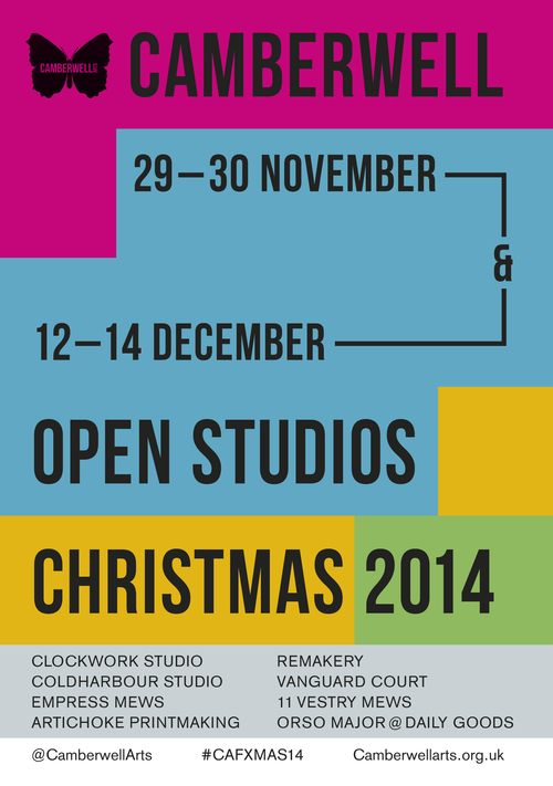 2014 Winter - Open Studios - December 2014