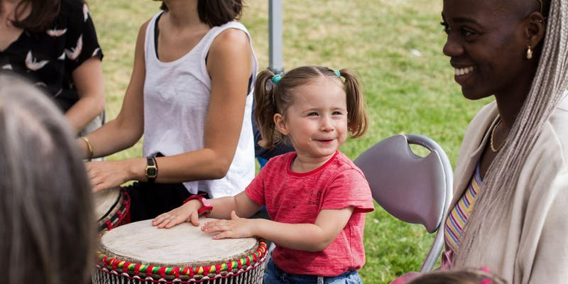 African Drumming with Jahdiafolila - 14.30 - 15.30; Camberwell GreenLove the sound of the djembe? and always wanted to learn in a safe and friendly environment?. African drumming workshop for all levels. Families welcome.