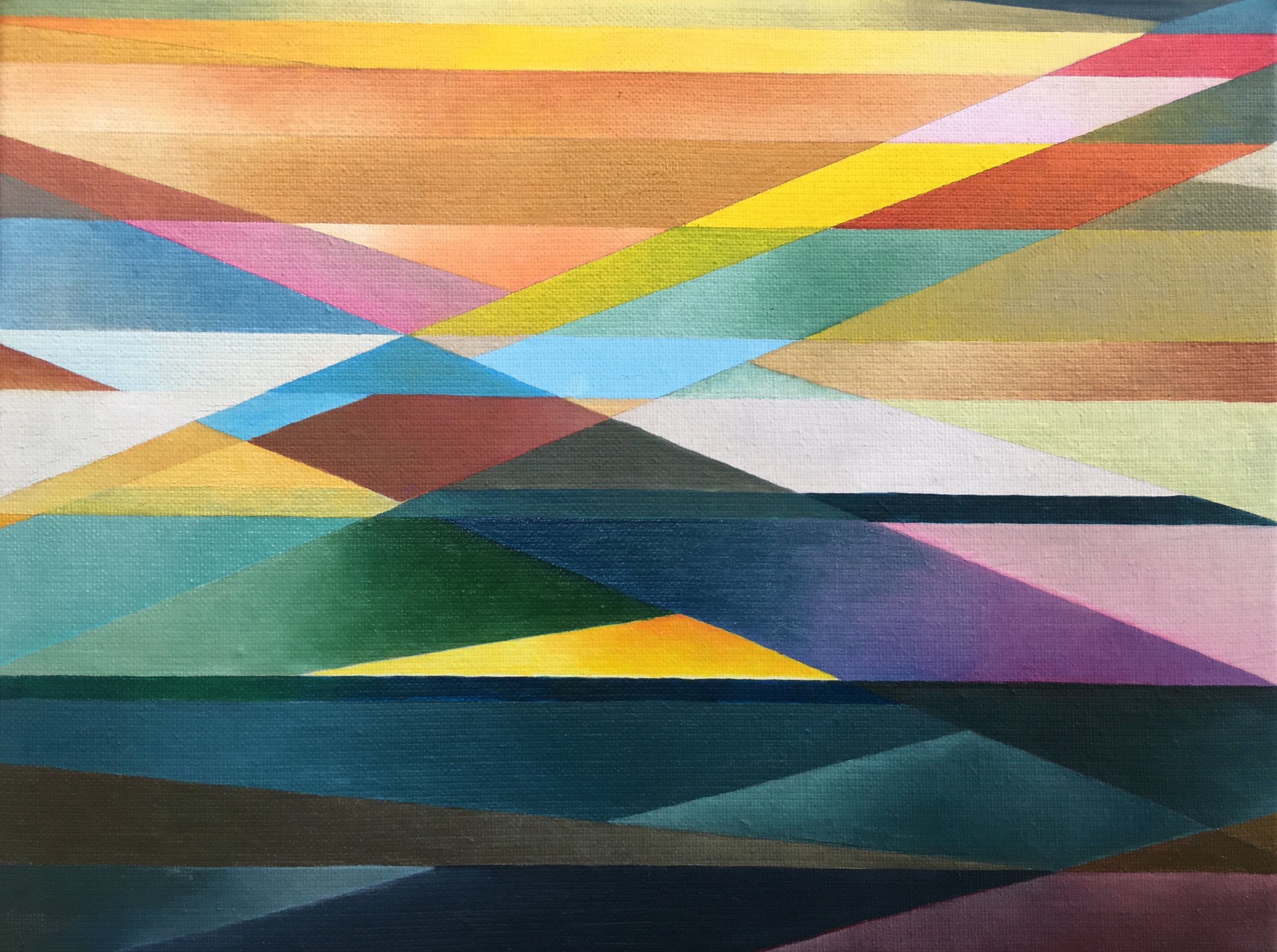 Marie Lenclos, Little Abstract Avril -