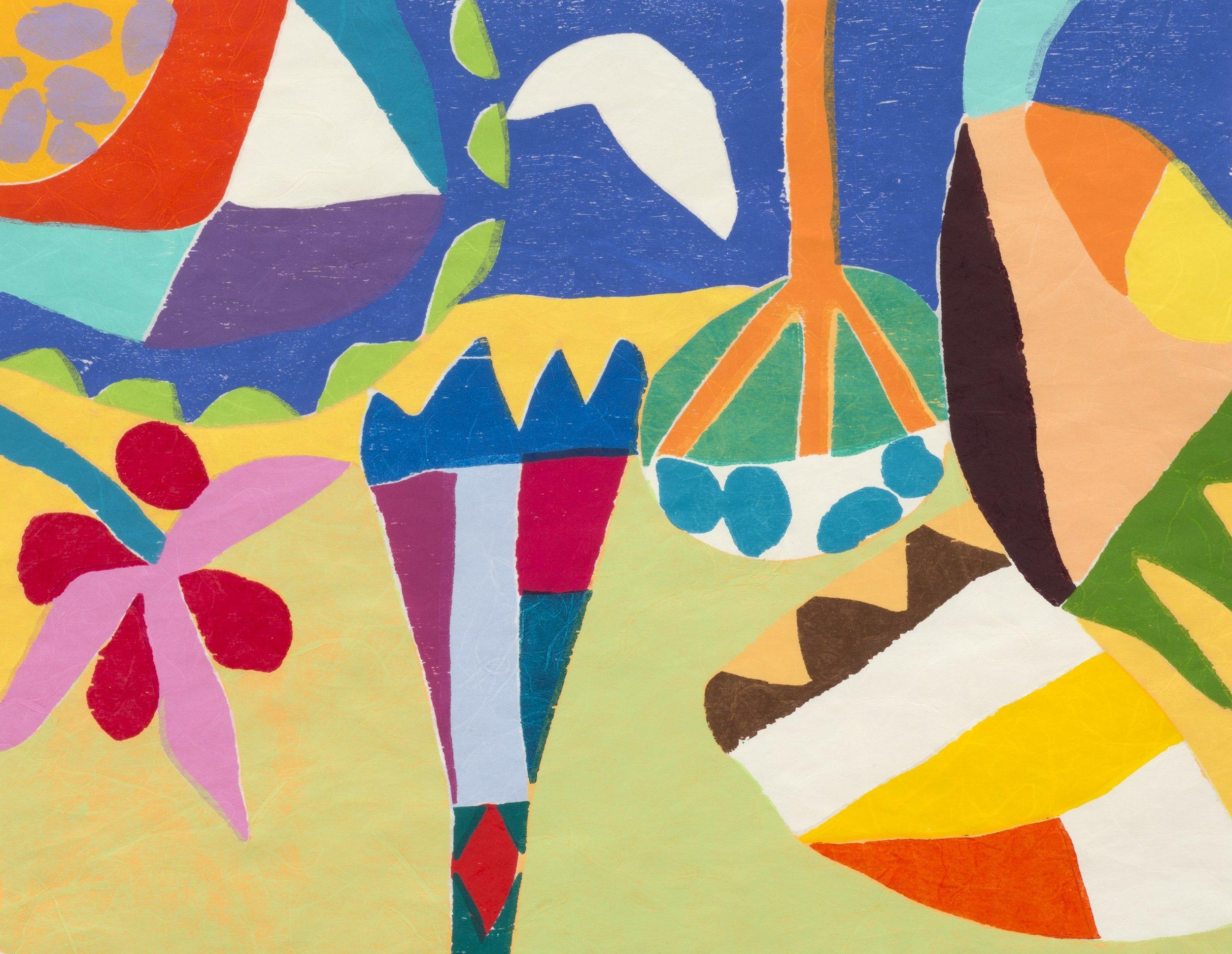 Gillian Ayres, Nabta - c/o Alan Cristea Gallery