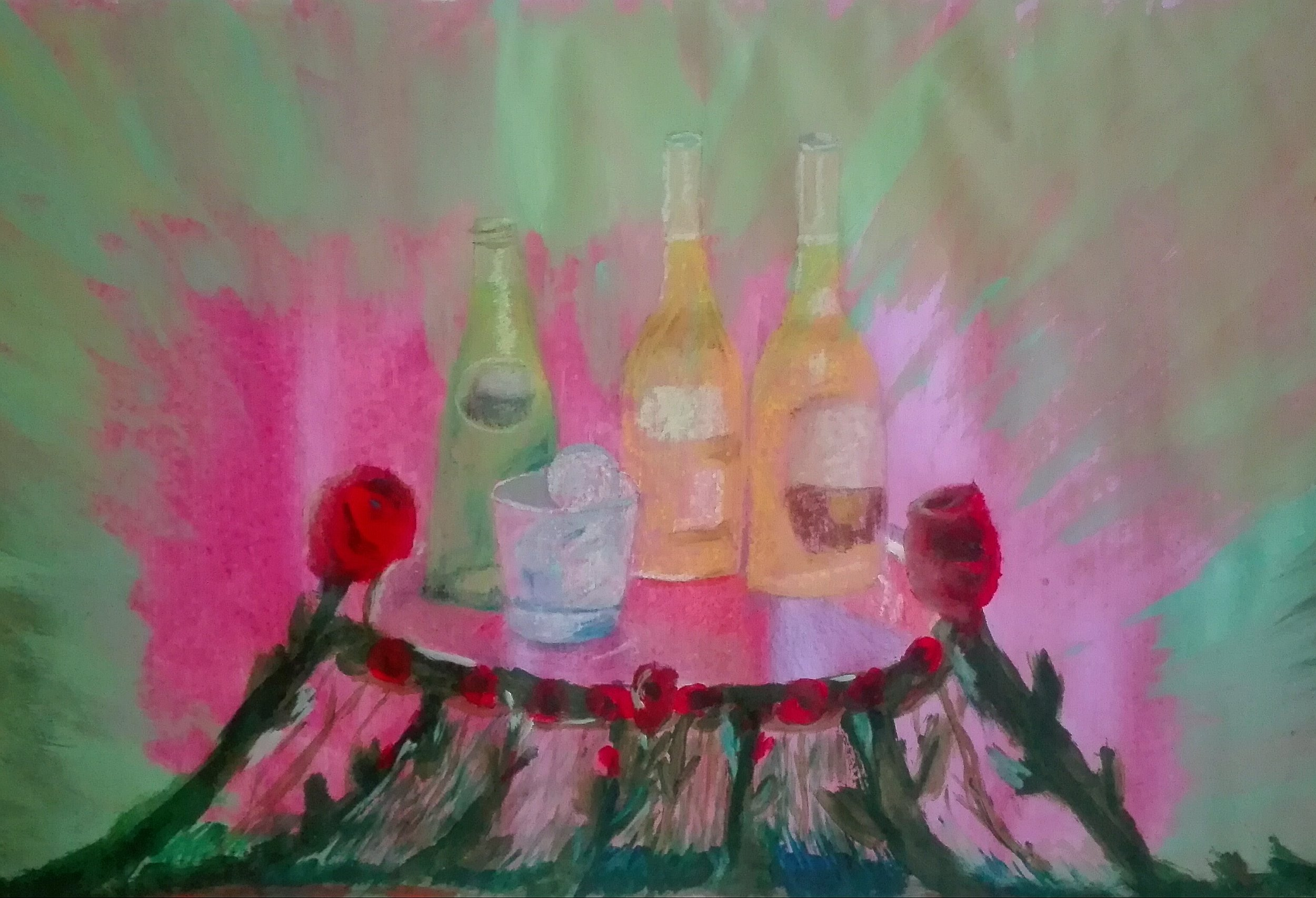Sarah Anna Nolas, The Garden Party - Bedroom Artists Art Collective