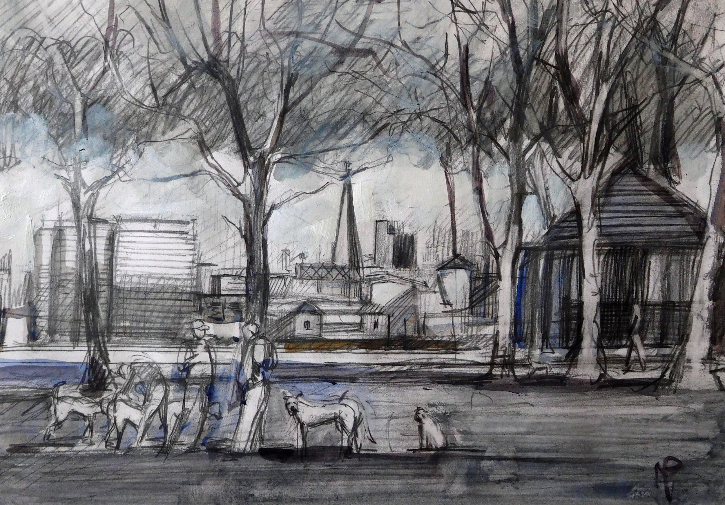 Peckham Art School Workshop - 14.00 - 16.00Ruskin Park, SE5 8ELPeckham Art School will be running two art workshops on consecutive Saturday afternoons with local artist Mark Pearson in Ruskin Park. The aim will be to complete a picture each week based on what we observe in the environment. In the first week participants will work with pencil and ink. Suitable for all levels, adults only, price includes paper, pencils, ink and brushes.£15 - Book here