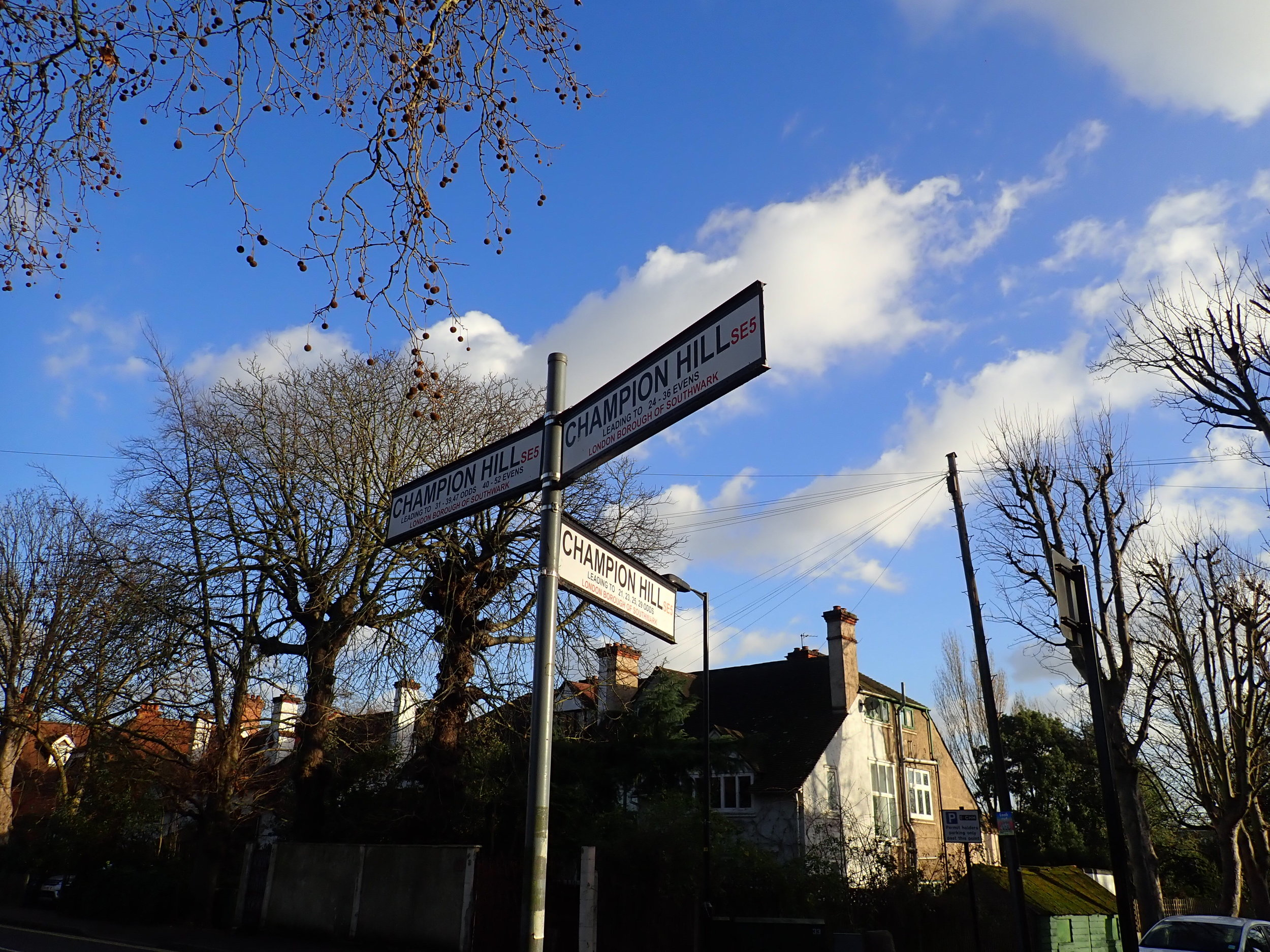 Denmark Hill and Camberwell - A Walk Guided by Isobel - 14.30 - 16.45Starts outside Denmark Hill Station, SE5 8BBGuided walk around the neighbourhoods of Denmark Hill and Camberwell with an award winning Blue Badge Guide.£10, payable on the day in cash only