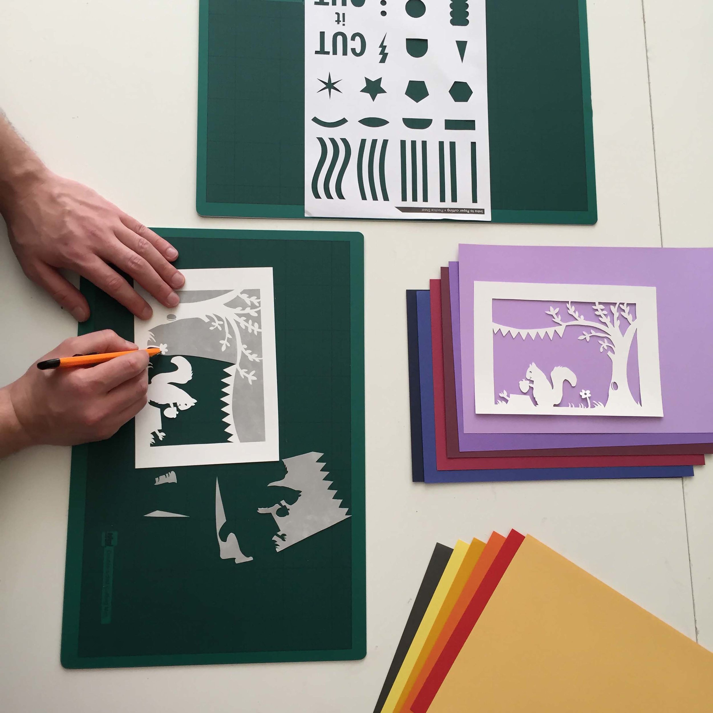Papercut Class with Kip Perdue - 11.00 - 12.00Empress Mews Studios, 6 Empress Mews, Off Kenbury Street, SE5 9BTThis event covers a guided approach to techniques, the best tools, materials and templates. You'll walk away with a better understanding of how to approach a paper cut project, what to use and how. There will be several small practice pieces to take home with you. You must be at minimum 18 years old or accompanied by an adult.£15 - BOOK HERE