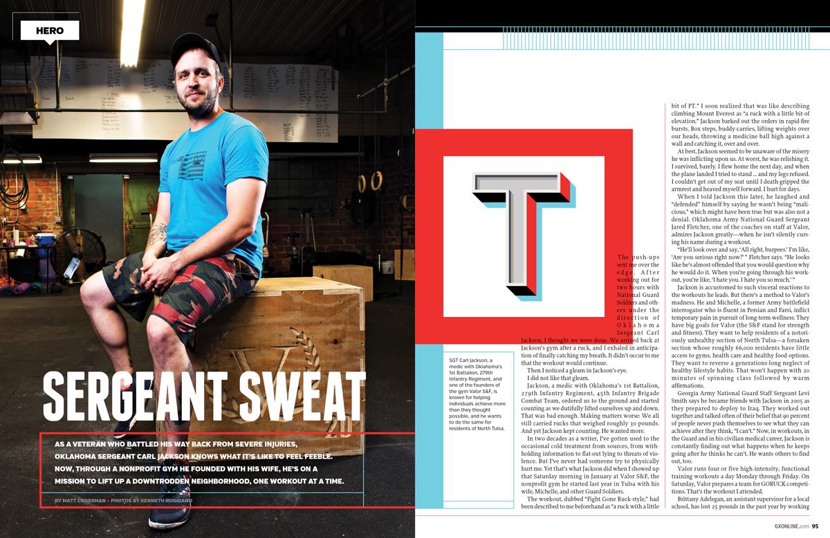GX  Magazine: Hero Feature