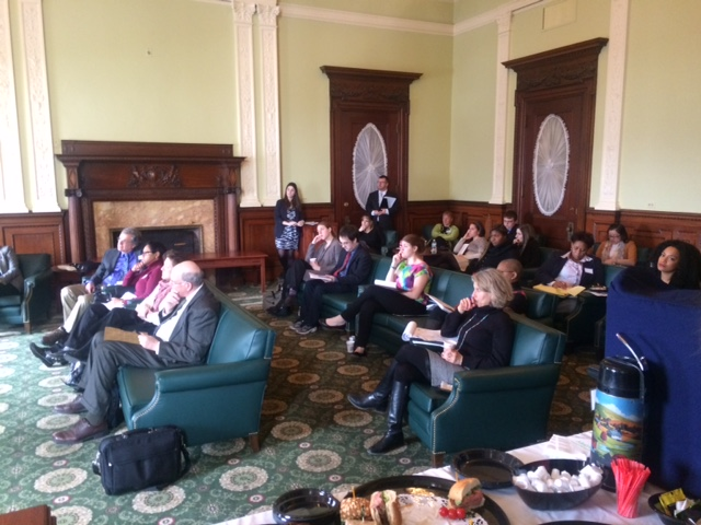 A packed house for a legislative briefing from the Parent-Child Home Program