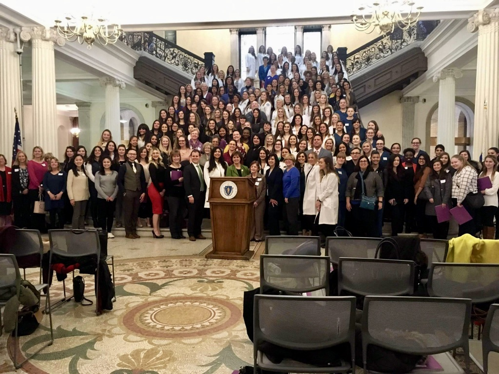 The Mass. Dental Hygienists' Association (MDHA) celebrates their annual Advocacy Day at the Massachusetts State House.