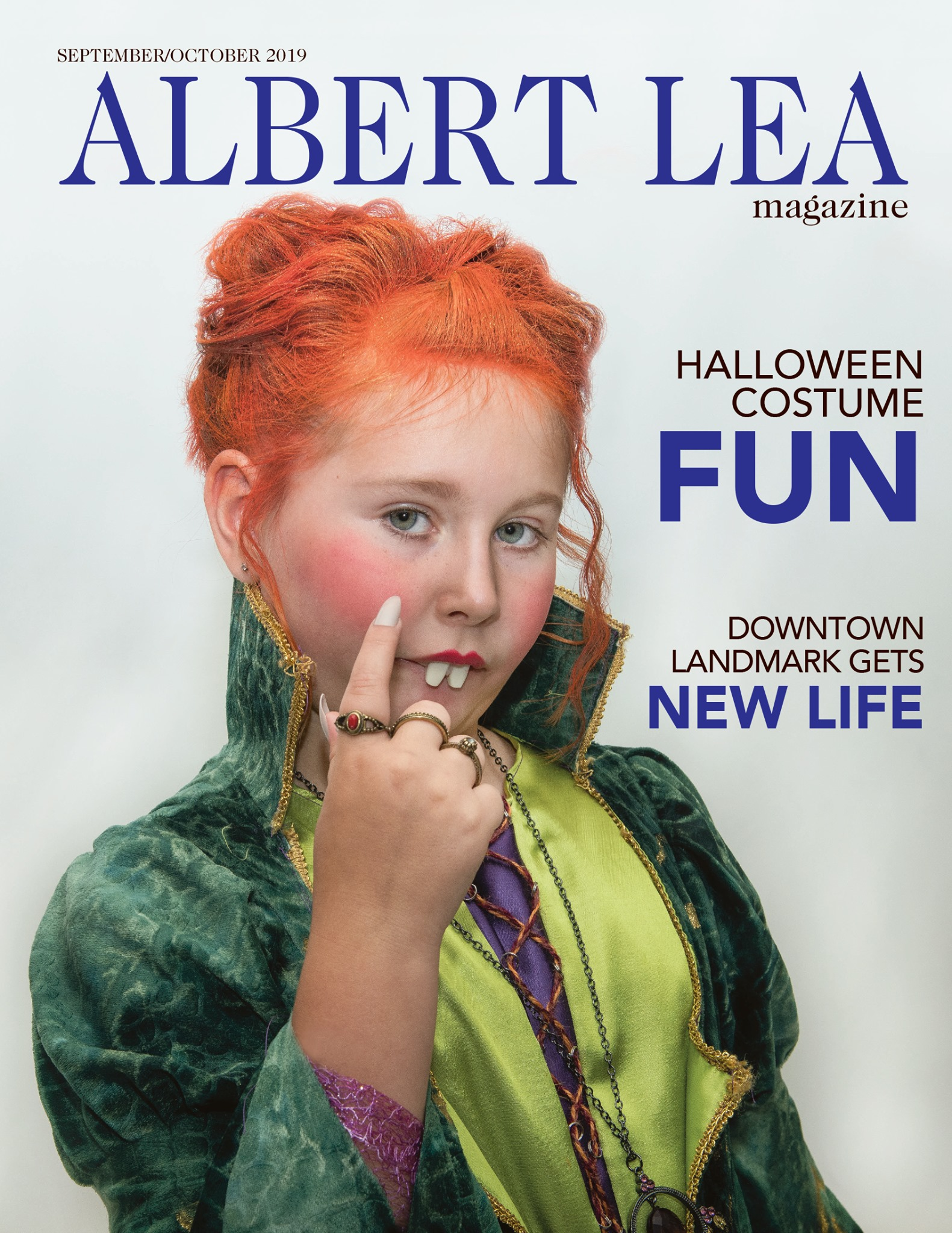 September/October Issue of the Albert Lea Magazine, cover photo.