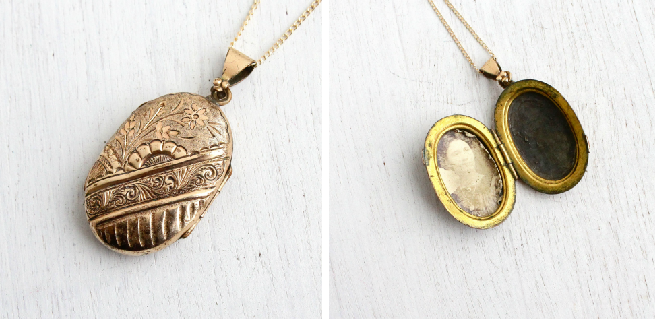 Antique Victorian Locket, circa late 1800's