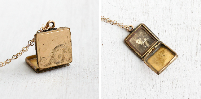 Victorian / Edwardian era locket, circa late 1800s- early 1900s