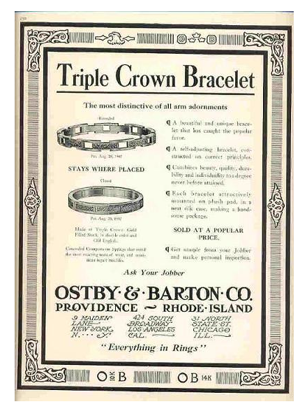 Original Ostby and Barton Ad
