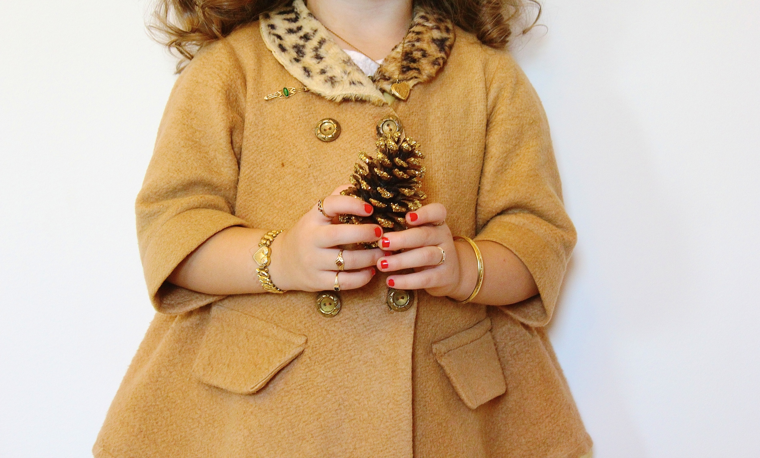 Close up of some Maejean Vintage  children's jewelry , available in our Etsy shop
