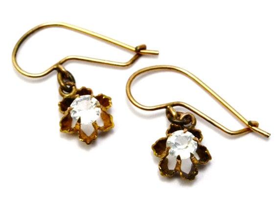 Antique Victorian Paste Earrings via  PipitVintage