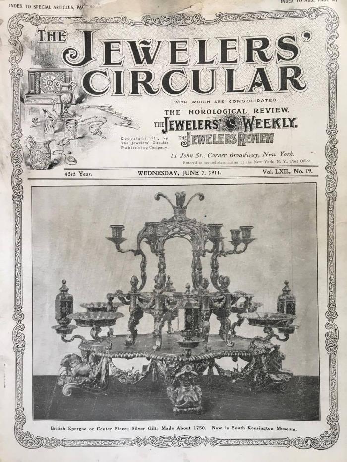 Vintage Jewelry Ads: Jeweler's Circular, June 7, 1911