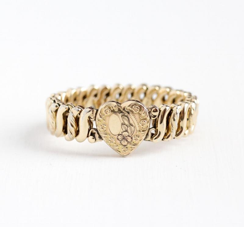 Vintage expansion bracelet, $55, for sale  here