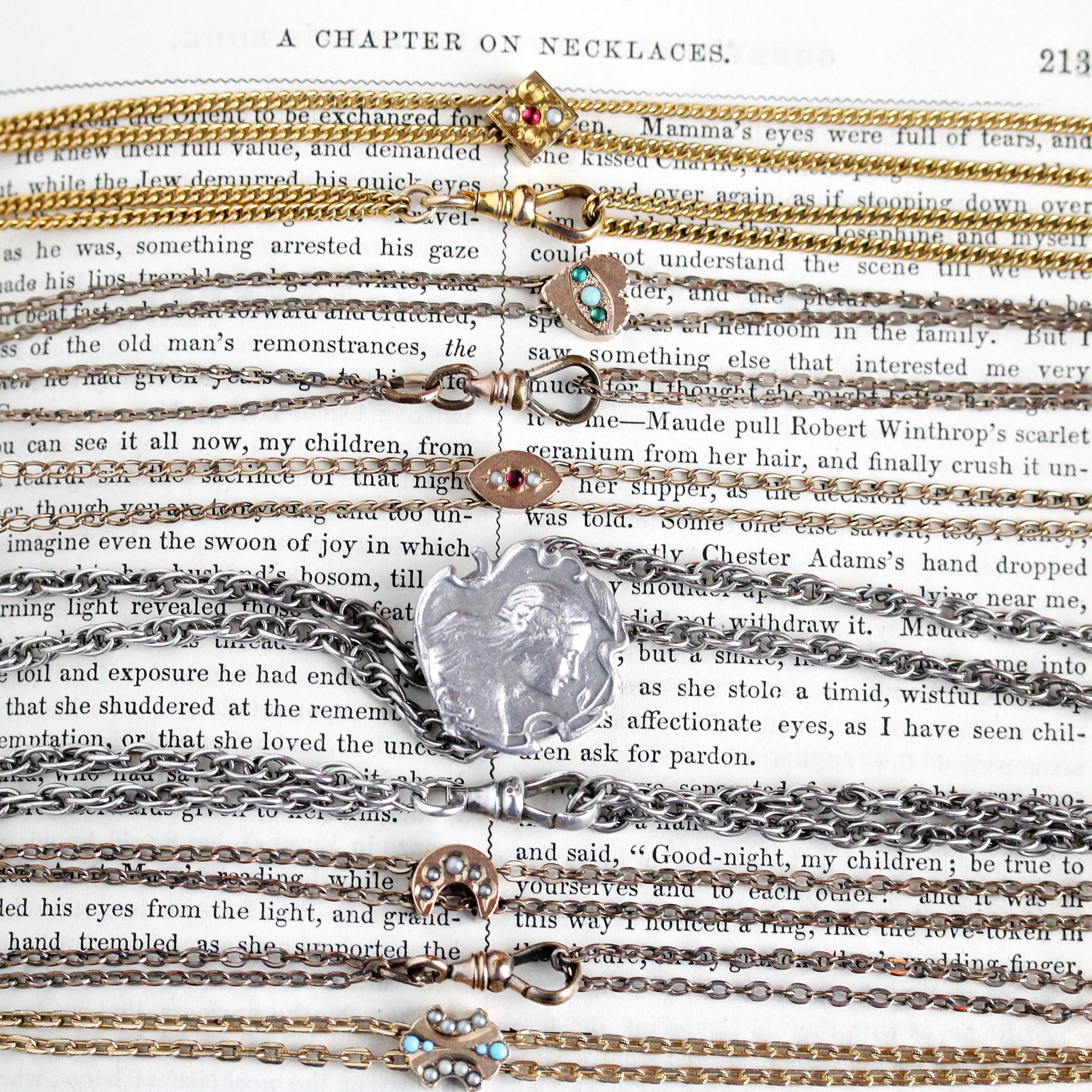 Antique Slide Chains: What are They & How to Wear Them - Shop our available chains here!