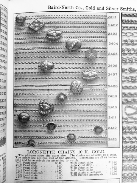 Antique jewelry catalogue // Maejean Vintage personal archive