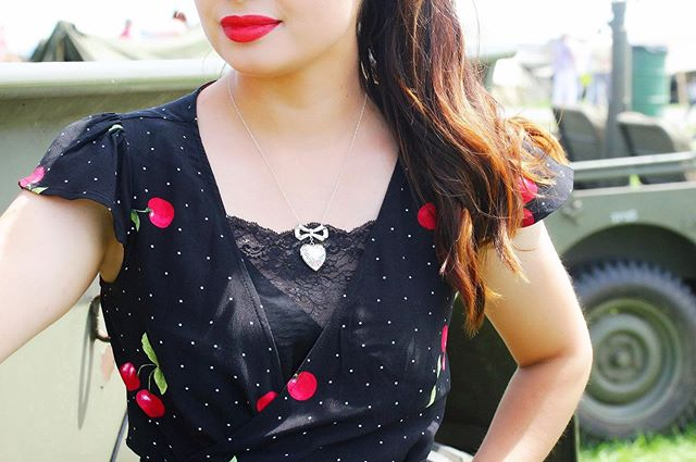 Sweetheart Locket ❤️🍒 @maejeanvintage