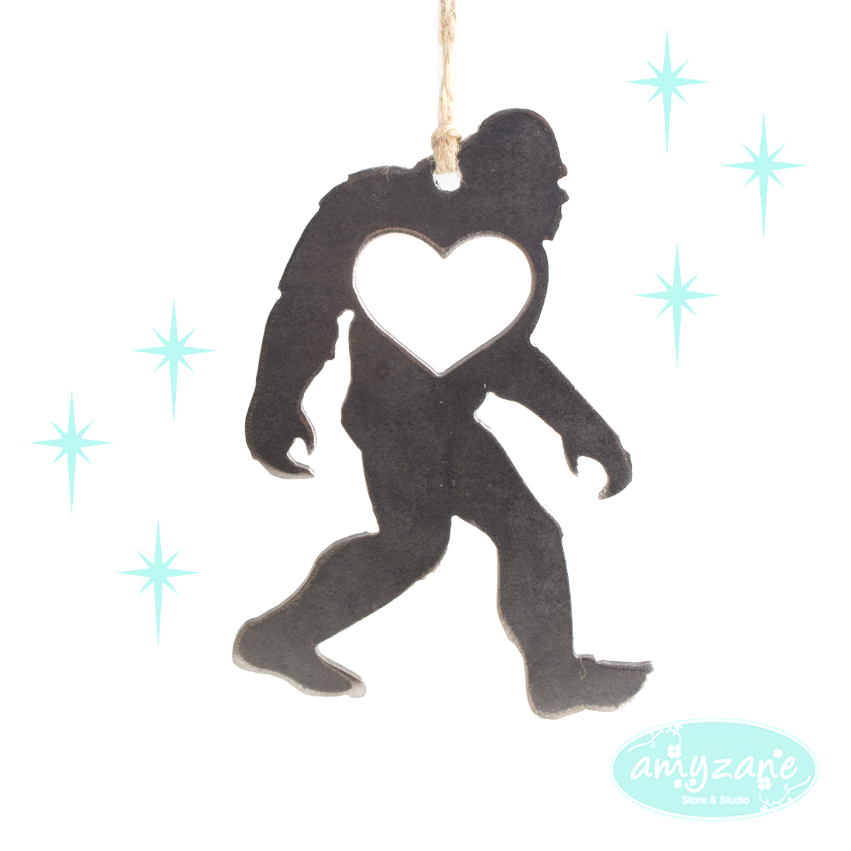 Sasquatch Ornament by BE Creations
