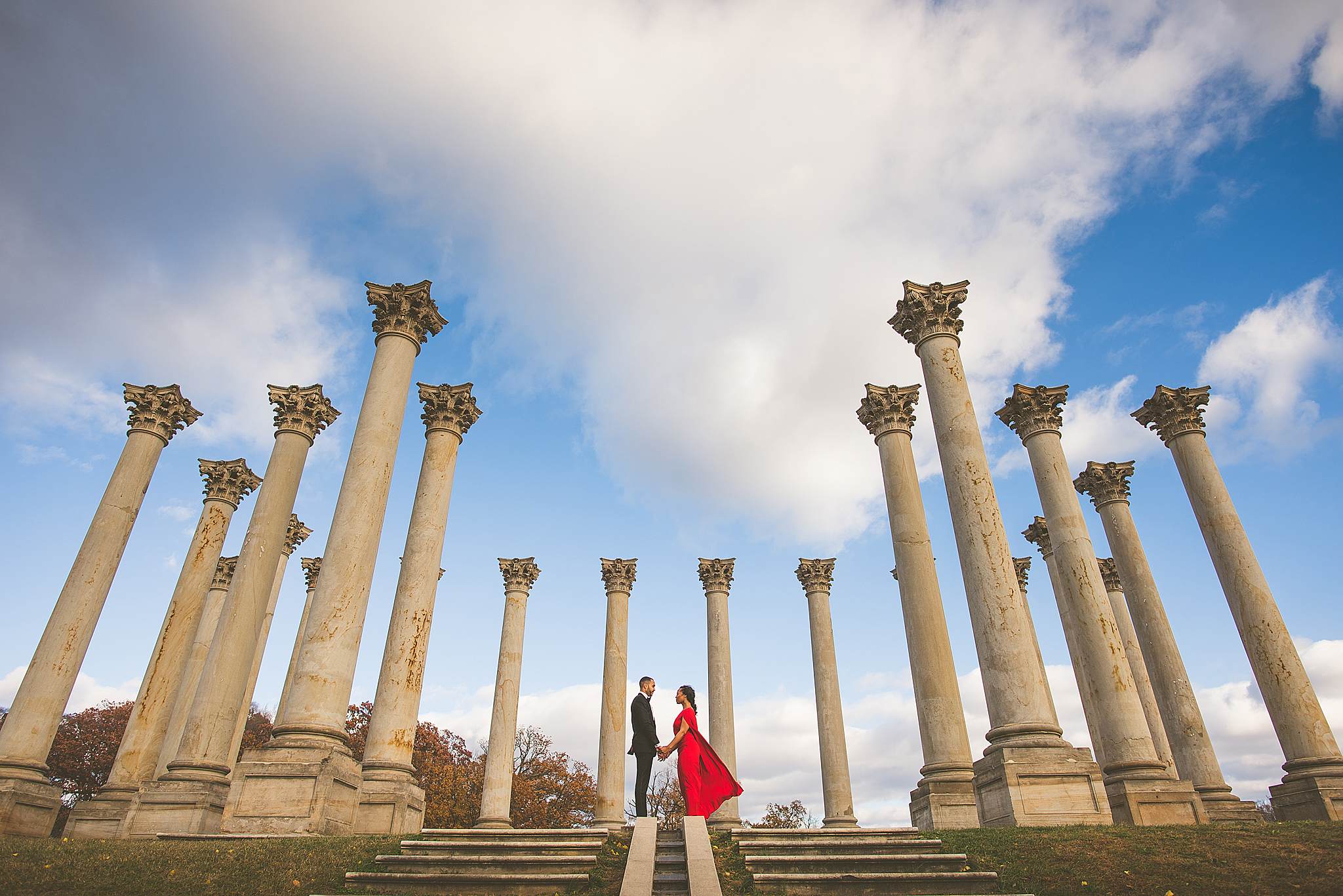 Jade Wil An Engagement Session At The Us National Arboretum