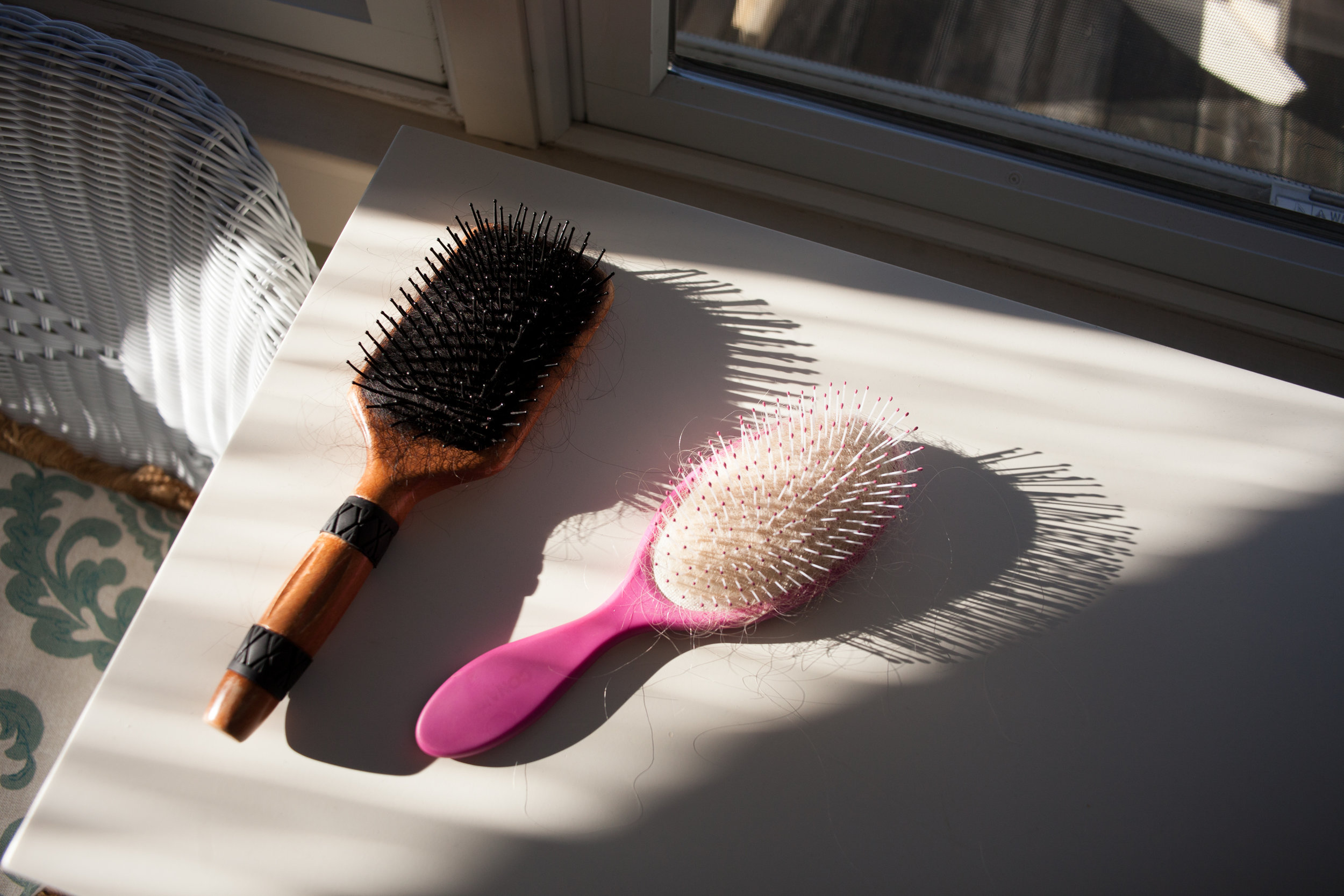 Hairbrushes,  2018