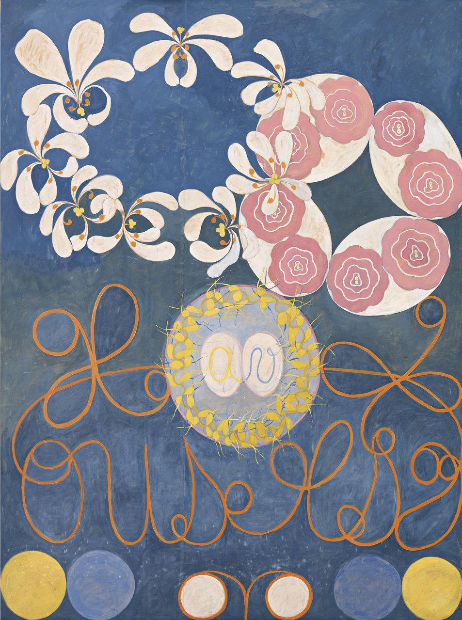 Hilma af Klint,  The Ten Largest, No. 1, Childhood, Group IV , 1907