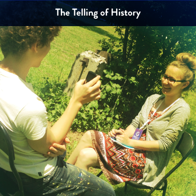 """""""History is written by the victors."""" ~ Winston Churchill  This unit guides students in an exploration the subjective nature of history; which voices are amplified; and which are silenced. Through a variety of historical narratives—story-based, oral, written and visual accounts—students will learn to identify the biases inherent in our cultural narratives.  This unit is comprised of 8 student workshops and includes oral history classroom projects!"""