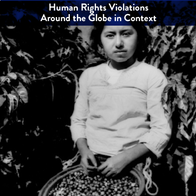 """This unit takes a close look at human rights violations around the world, placing them within contexts to which students can better relate. Examples of study include sex trafficking, the mining of minerals in the Congo, child soldiers, and forced labor. Students begin to question, """"Where do the minerals in my cell phone come from?"""" """"Where does the sugar/cocoa in my chocolate bar originate?""""time and how historians juxtapose these three elements.  This unit is comprised of 16 student workshops"""