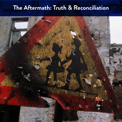 This unit delves into the aftermath of war and genocide. Through investigating specific wars  students will research and review truth commissions and various healing processes that post  traumatic societies choose to help process and move past the atrocities of war.    This unit is comprised of 10 classroom workshops