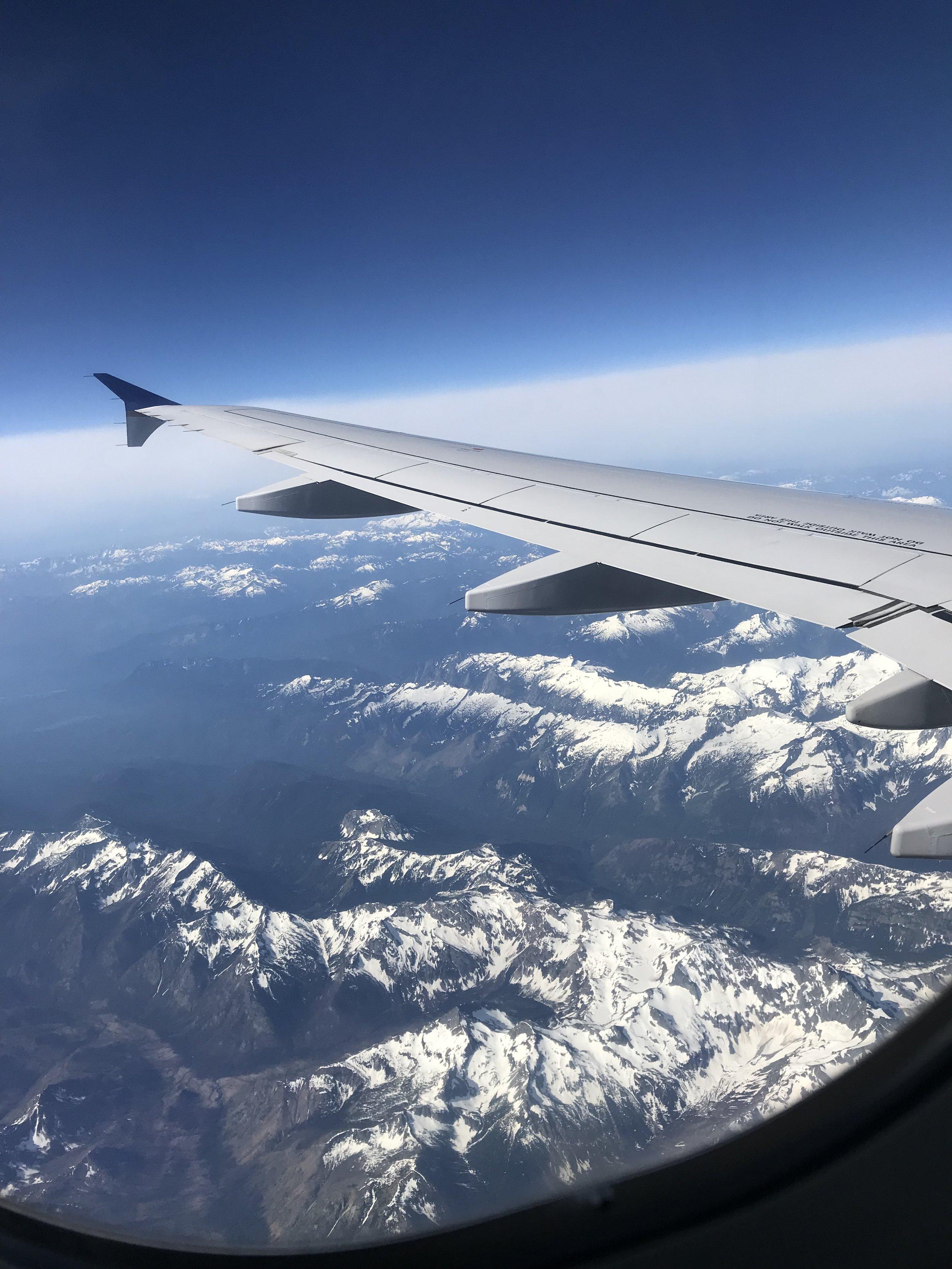 En route to Vancouver.