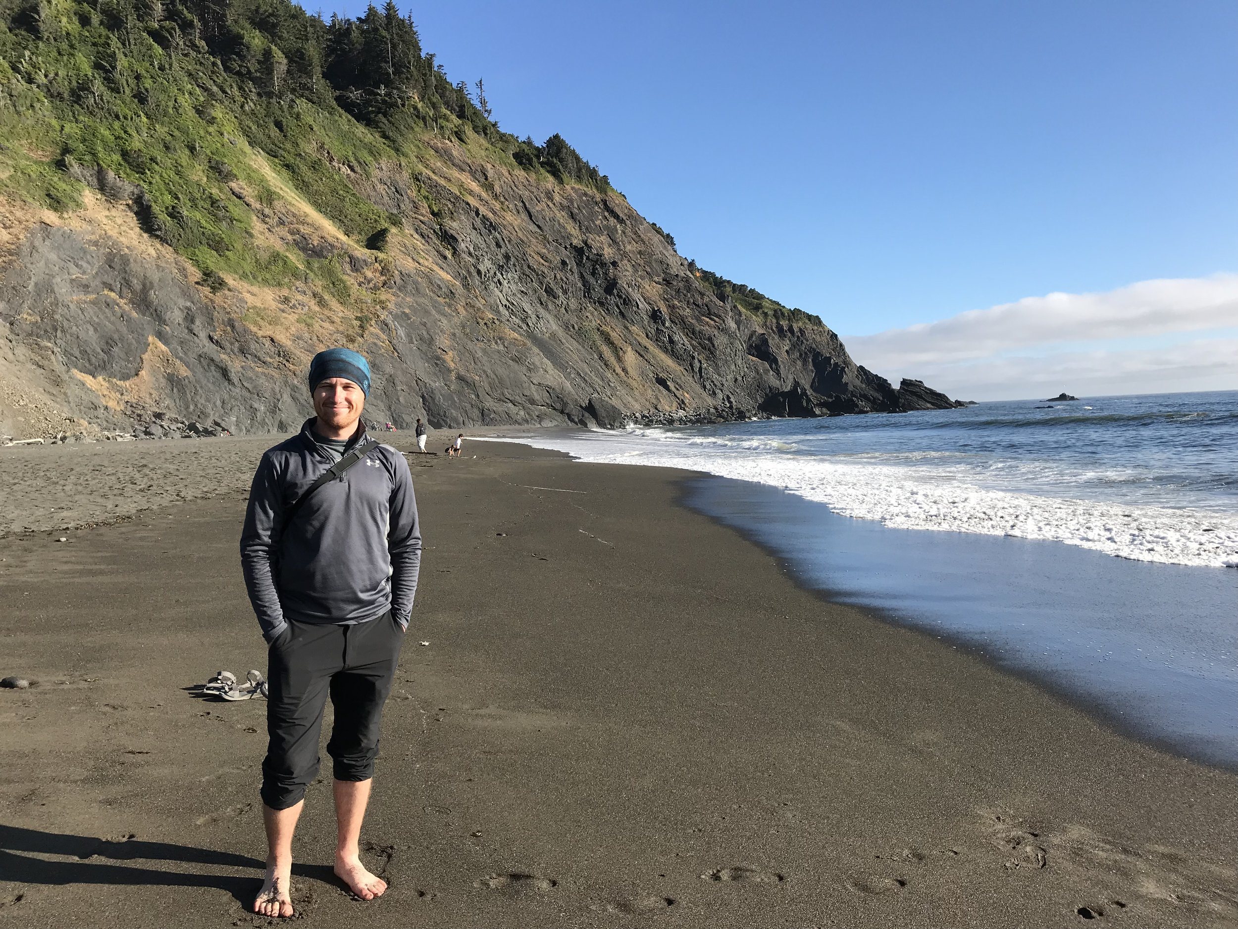 Beach at Humbug Mountain