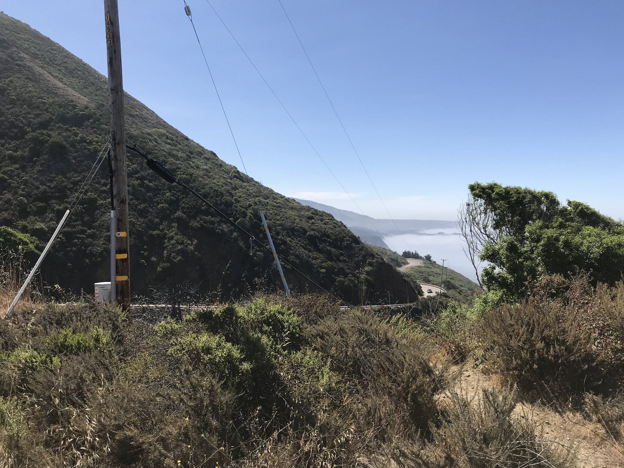 Thursday we rode to Morro Bay, which included plenty more mountain switchbacks.