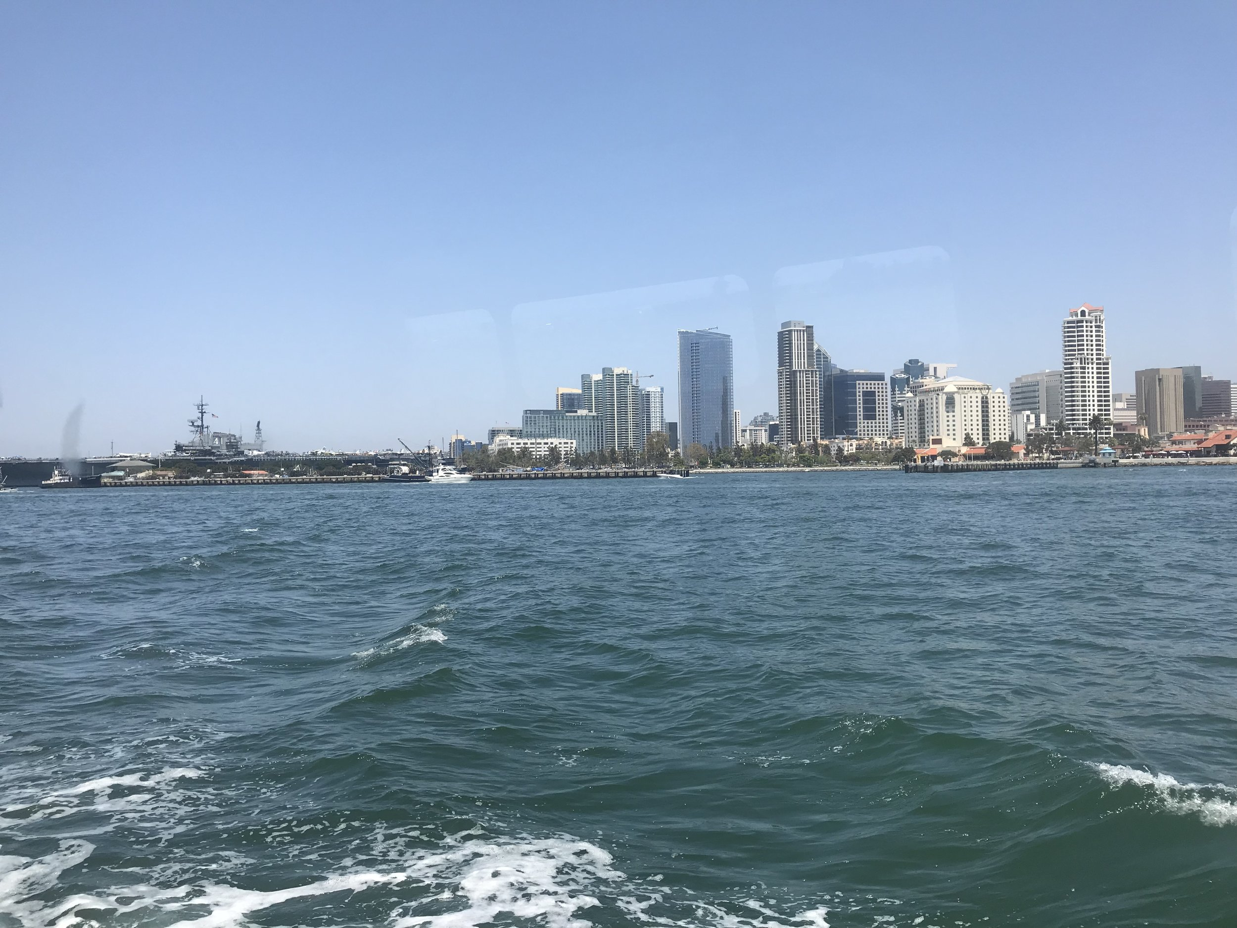 View from the ferry.