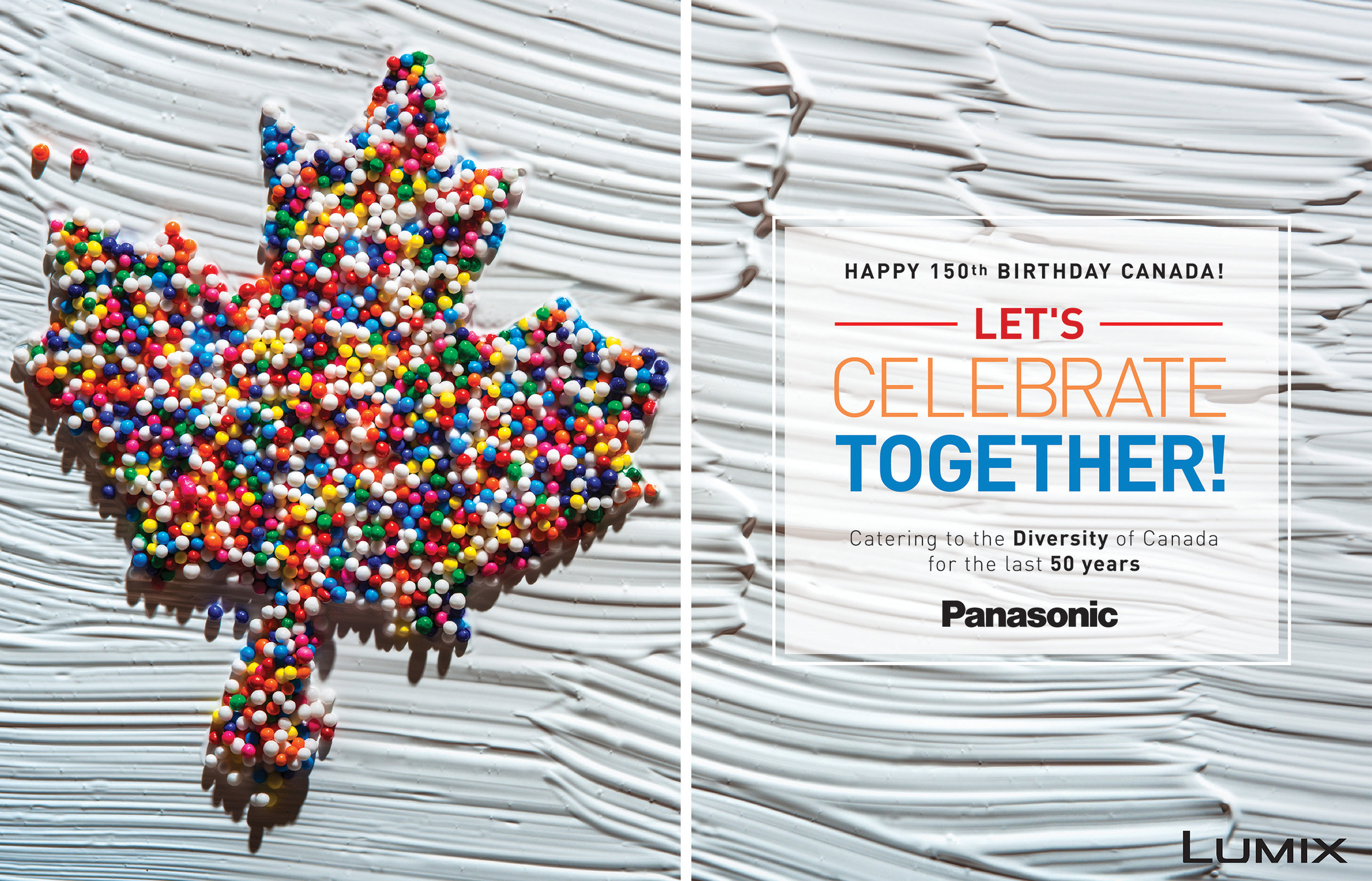 Panasonic Canada Anniversary Advertisement
