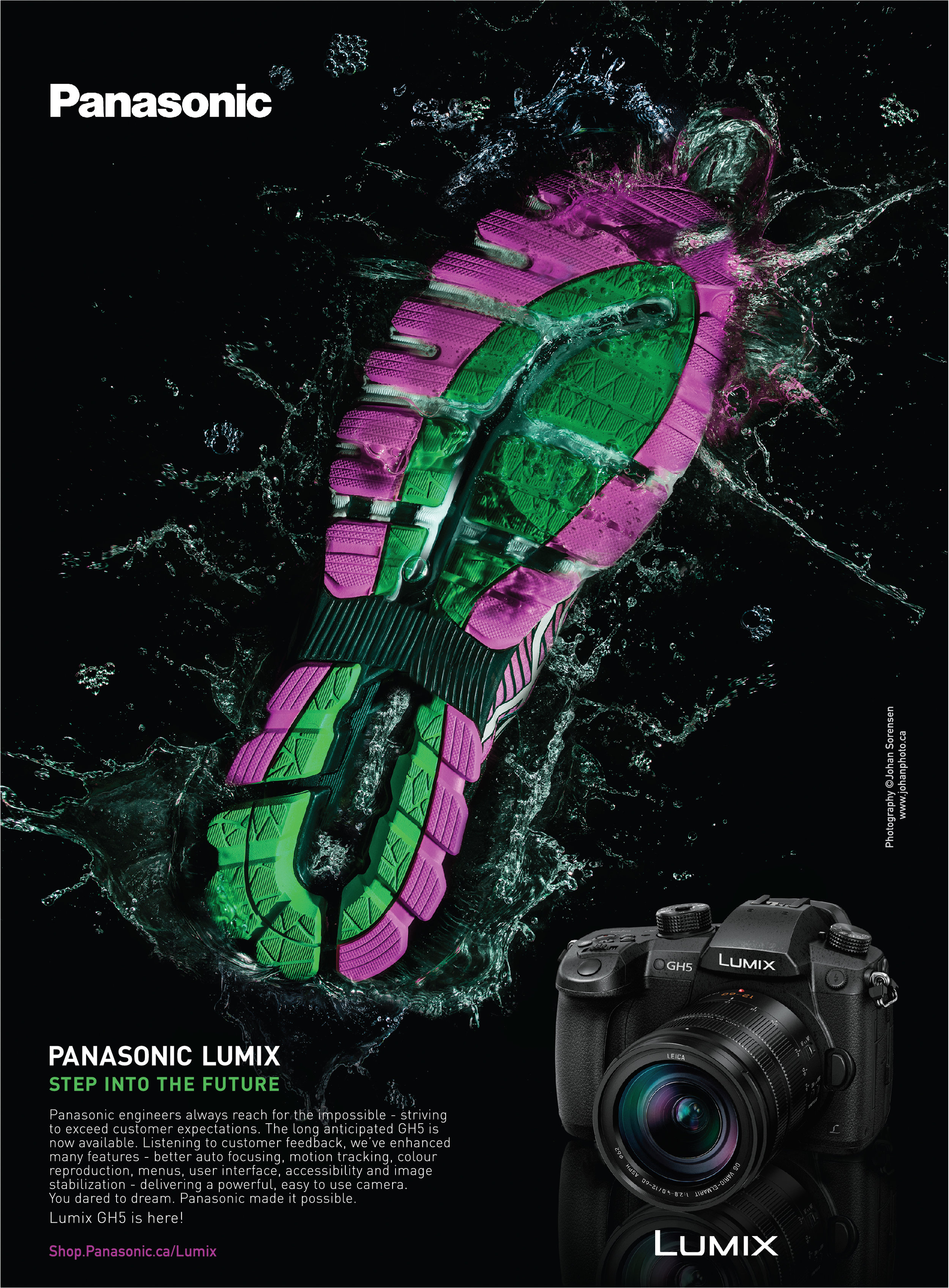 Panasonic Lumix Advertisement
