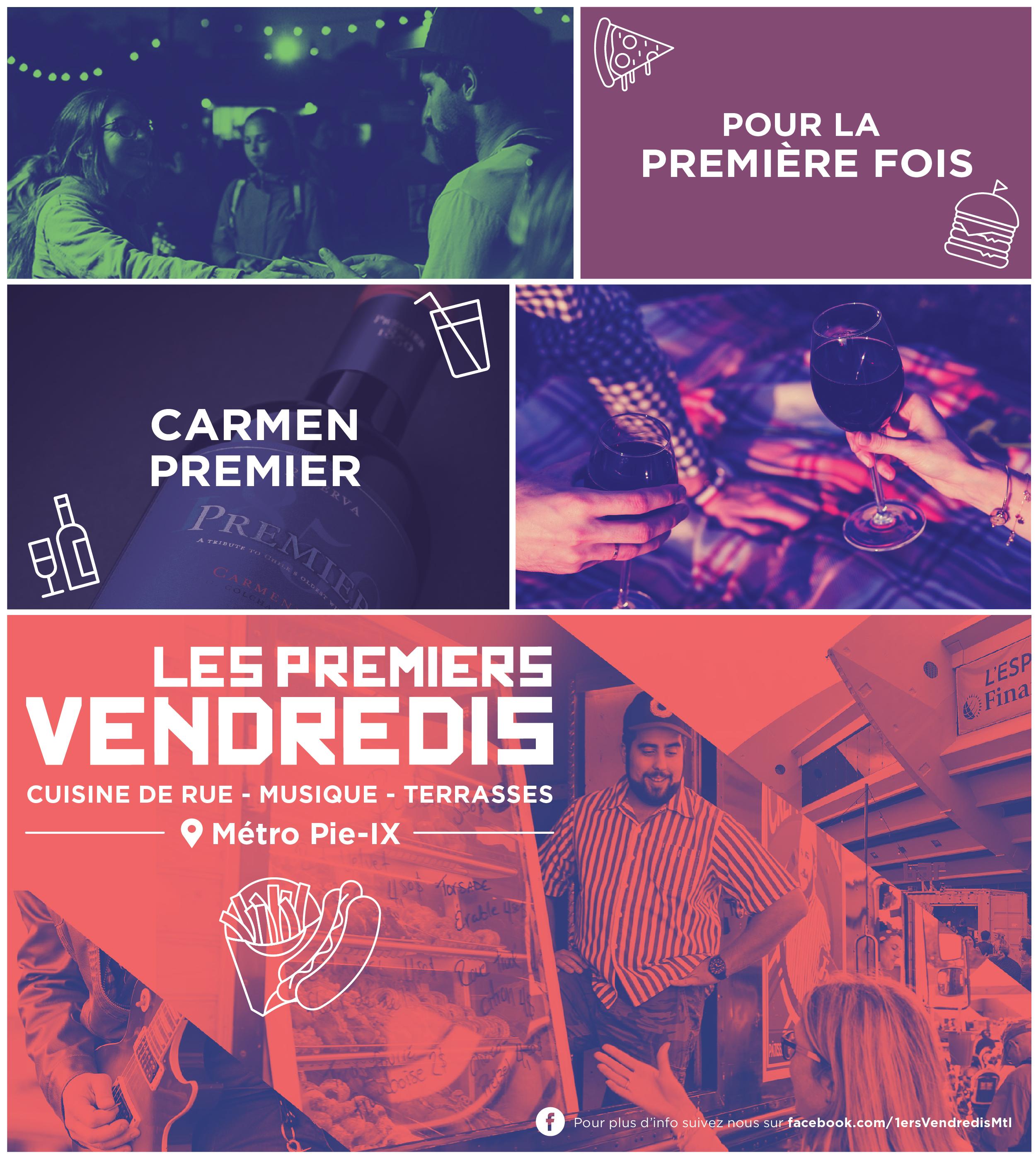 Quebec Food Truck Festival Poster