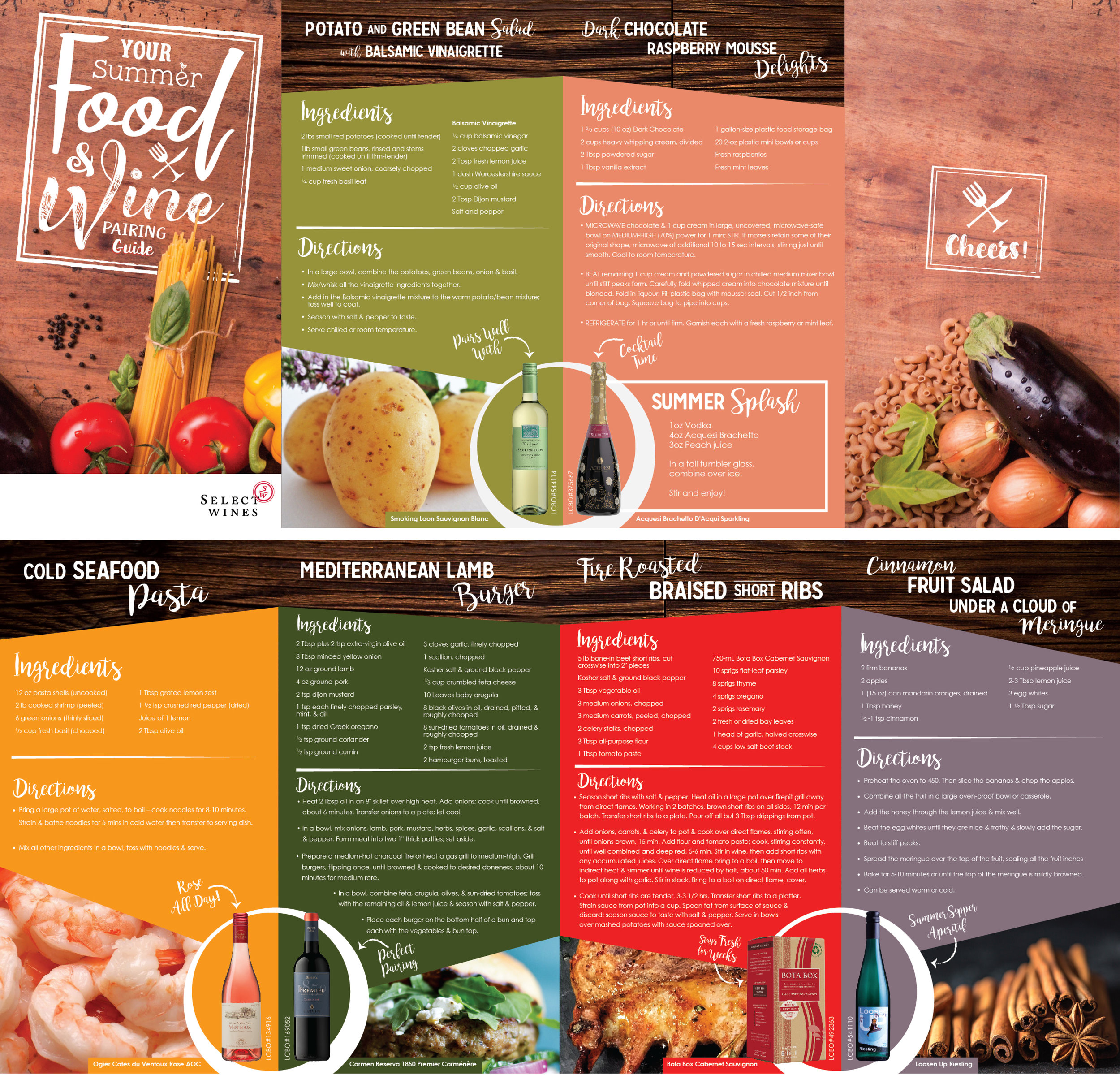 Thrill of the Grill Brochure (Front and Back)